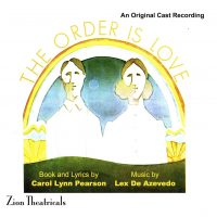 The Order Is Love — Original Cast Recording CD